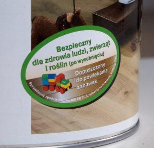 Olej i wosk są bezpiecznie dla dzieci