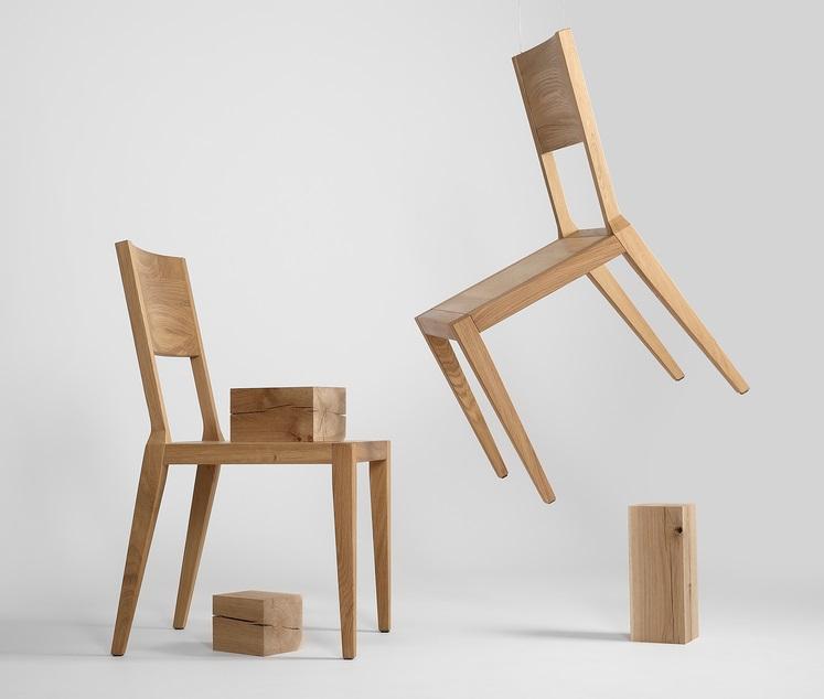 skandynawski styl, krzesło