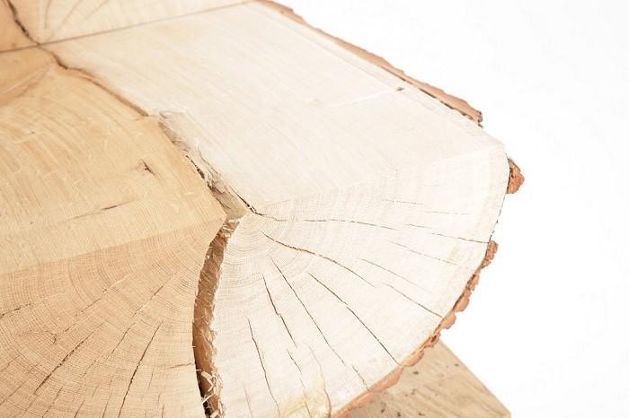 błyszcz, element drewna